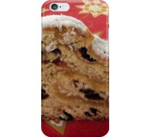 Day 2 - Christmas cake leftovers iPhone Case/Skin