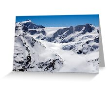 Murchison Glacier Greeting Card