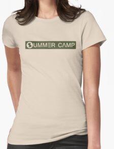 Digimon - TK's SUMMERCAMP T-shirt Womens Fitted T-Shirt