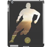 Soccer stadium silhouette iPad Case/Skin