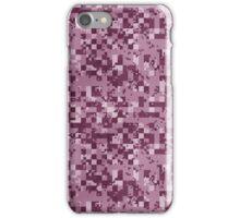 Cube Camo - Pink iPhone Case/Skin