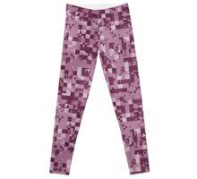 Cube Camo - Pink Leggings