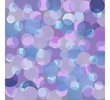 Pastel Pink and Blue Balls Photographic Print