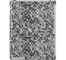 Cube Camo - Gray iPad Case/Skin