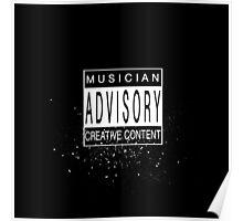 Musician Advisory Poster