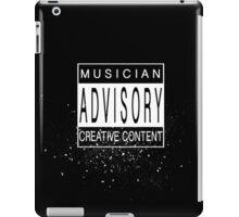 Musician Advisory iPad Case/Skin