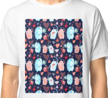 In love with a beautiful pattern with monsters Classic T-Shirt