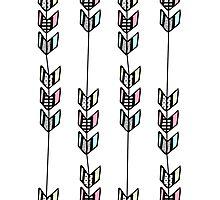 Chevron Arrow Patterns Photographic Print