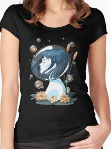 Breathing Underwater Women's Fitted Scoop T-Shirt