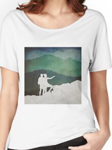 Trailblazers: A Couple of Hikers Women's Relaxed Fit T-Shirt