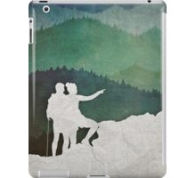 Trailblazers: A Couple of Hikers iPad Case/Skin
