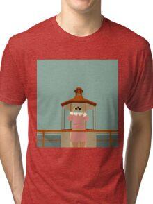 Minimalist Suzy Bishop - Moonrise Kingdom Tri-blend T-Shirt