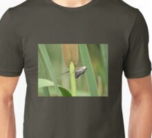 Cicada on a Cattail Plant Unisex T-Shirt