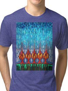 Space Rain Tri-blend T-Shirt