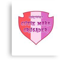 MLP: Certified Cutie Mark Crusader Canvas Print