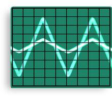Oscilloscope Canvas Print