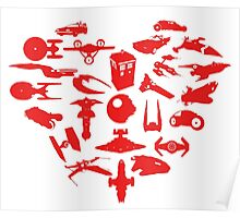 My Heart is Geek- Valentine's Day! Poster