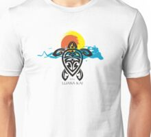 Tribal Turtle Sunset / Luana Kai Maui Unisex T-Shirt