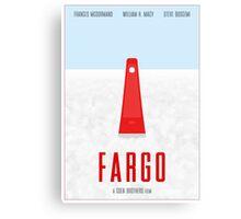 Fargo film poster Canvas Print