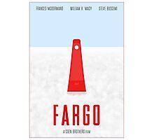 Fargo film poster Photographic Print