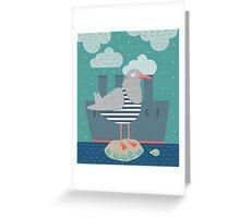 A seagull Carte de vœux