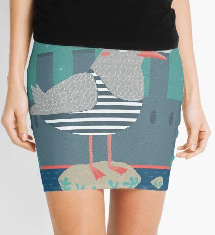 A seagull Mini Skirt