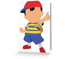 Ness Smash 4 Design Greeting Card