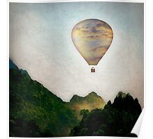 The Great Escape Hot Air Balloon Poster