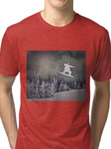 The Snowboarder Tri-blend T-Shirt