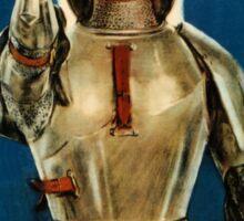 Joan of Arc saved France World War I advert Sticker