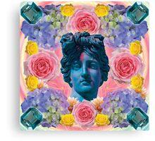 poofy pink petal prince Canvas Print