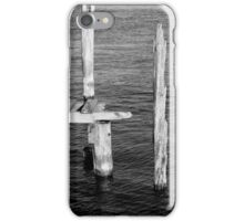 Old Dock Remains BW iPhone Case/Skin