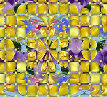 Lavender with yellow overlays by MarilynBaldey7