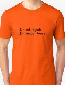 NERD HUMOR: Get More Beer! T-Shirt