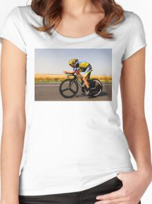 Alberto Contador Women's Fitted Scoop T-Shirt