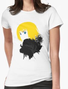 """Armin """"Attack on titan"""" Womens Fitted T-Shirt"""