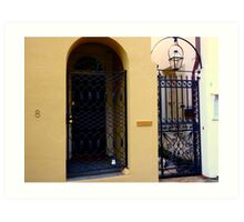 Charleston Portals Art Print