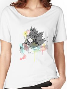 Howl watercolor  Women's Relaxed Fit T-Shirt
