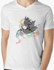 Howl watercolor  Mens V-Neck T-Shirt