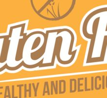 Gluten Free Healthy And Delicious Sticker
