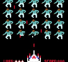 Space Invaders Meets Drake by falconloverxxxx