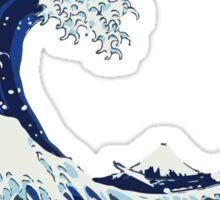 The Big Wave Sticker