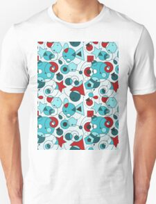 Colorful Abstract Geometric Shapes T-Shirt