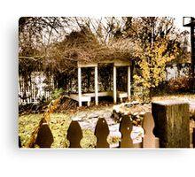 NuWray Inn Historic Gardens & Restaways Canvas Print