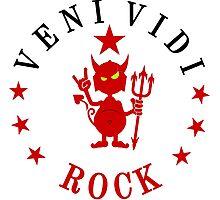 VENI VIDI ROCK VRS2 Photographic Print