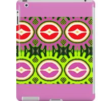 Shapes with diamonds iPad Case/Skin