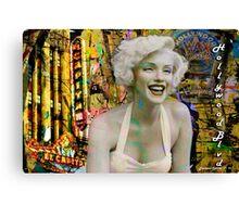 Marilyn on Hollywood Blvd. Canvas Print