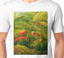 Tuscany at Dawn Unisex T-Shirt