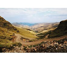 Sani Pass, Lesotho and South Africa Photographic Print