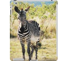 Zebra in South Africa iPad Case/Skin